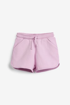 Lilac Jersey Shorts (3-16yrs)
