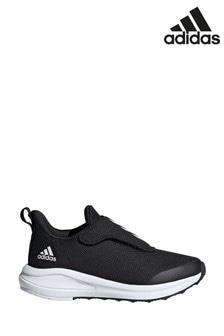 adidas Black/White Run FortaRun Junior and Youth Trainers