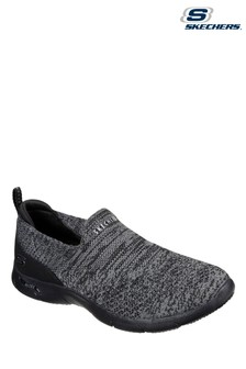 Skechers Black Arch Fit Refine Don't Go Shoes
