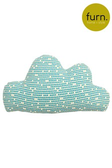 Little Furn Printed Cloud Cushion by Furn