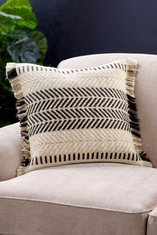 Natural Benoni Woven Jute Cushion