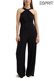 Esprit Black Elegant Jumpsuit