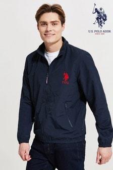 U.S. Polo Assn. Zip-Through Funnel Neck Jacket