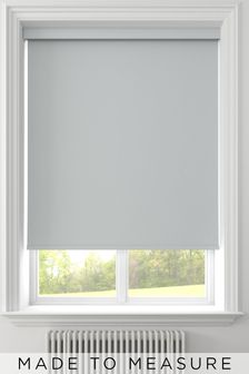 Syson Grey Made To Measure Waterproof Roller Blind