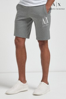Armani Exchange Icon Logo Jersey Shorts
