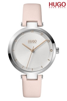 Hugo Boss Ladies Hope Leather Strap Watch