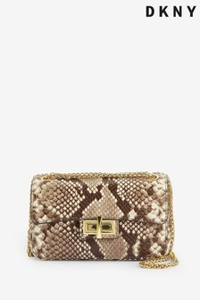 DKNY Leather Jojo Mini Crossbody Multiway Bag