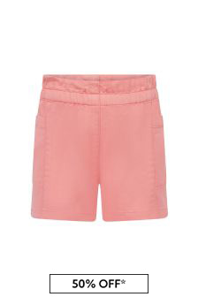 Bonpoint Baby Girls Orange Shorts