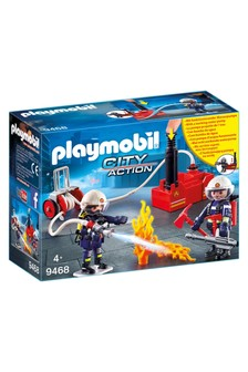 Playmobil® 9468 City Action Firefighters With Water Pump
