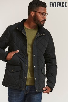FatFace Grey Hayle Quilted Jacket