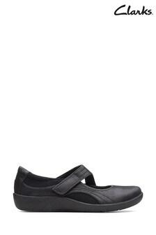 Clarks Black Sillian Bella Shoes