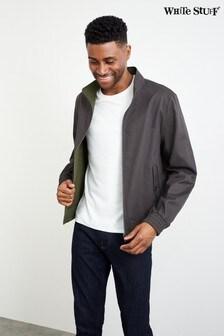White Stuff Grey Miller Reversible Harrington Jacket