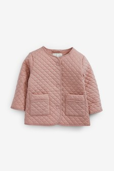 Pink Quilted Jacket (3mths-7yrs)