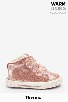 Rose Gold Pink Standard Fit (F) Thinsulate™ Warm Lined Boots