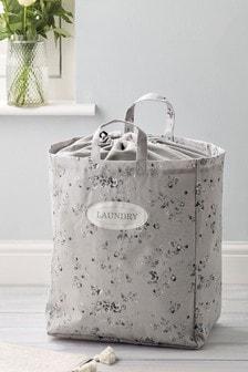 Vintage Floral Laundry Bag