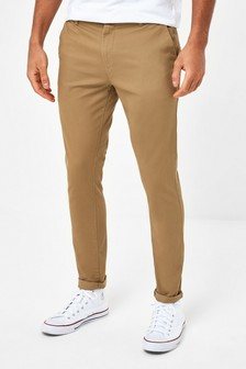 Sand Skinny Fit Stretch Chinos
