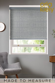 Scribble Cool Grey Made To Measure Roller Blind by Orla Kiely