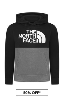 The North Face® Boys Grey Hoody