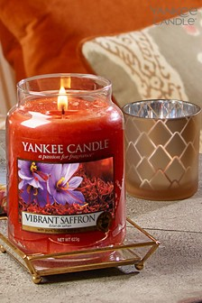 Yankee Candle Classic Large Vibrant Saffron Candle