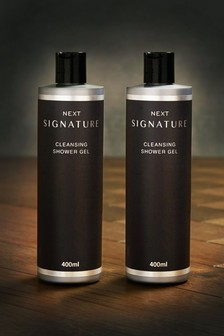 Set of 2 Signature Shower Gel