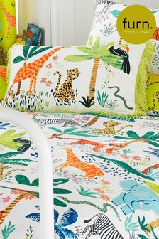 Little Furn Jungletastic Cushion by Furn
