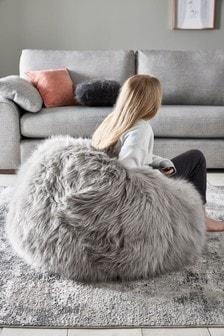 Arctic Cosy Faux Fur Beanbag