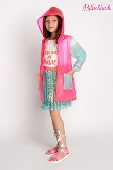 Billieblush Pink Multicoloured Raincoat