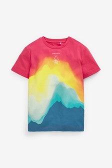 Multi Bright Waves Jersey T-Shirt (3-16yrs)