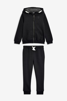 Black Hoody And Joggers School Set (3-16yrs)