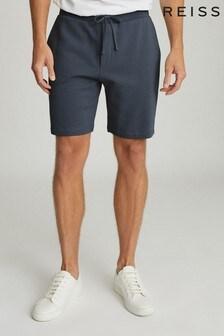 Reiss Belsay Garment-Dyed Jersey Shorts