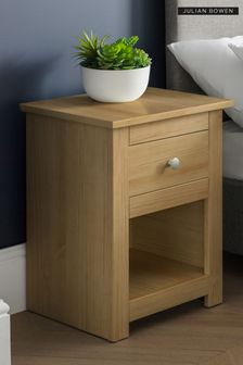 Julian Bowen Radley Waxed Pine Bedside Table
