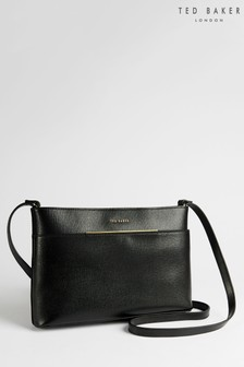 Ted Baker Golnaz Saffiano Bar Detail Cross Body Bag