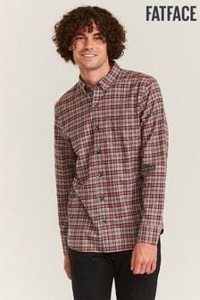 FatFace Red Porton Check Shirt