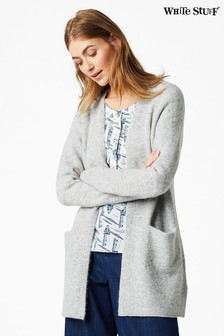 White Stuff Grey Cosy Cardigan