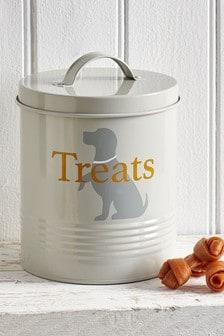 Pet Treat Storage Tin
