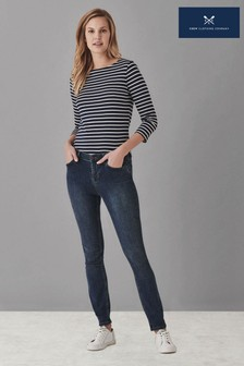 Crew Clothing Blue Skinny Jeans