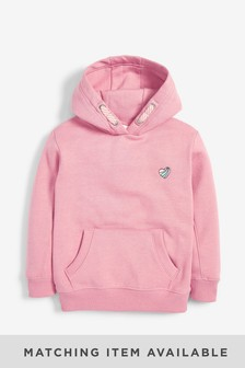Pink Hoody Soft Touch Sweat (3-16yrs)