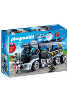 Playmobil® 9360 City Action SWAT Truck With Working Lights And Sound