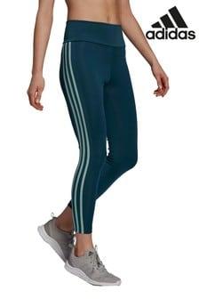 adidas 3 Stripe High Waisted 7/8 Leggings