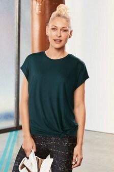 Teal Emma Willis Knot T-Shirt