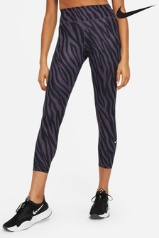 Nike The One 7/8 All Over Printed Icon Clash Leggings