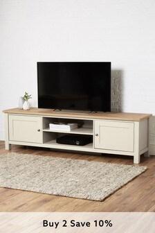 Cream Malvern Super Wide Tv Stand