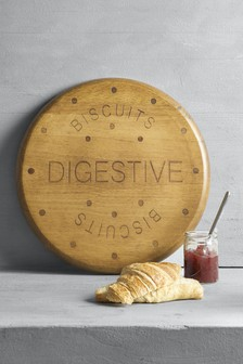 Wooden Digestive Chopping Board
