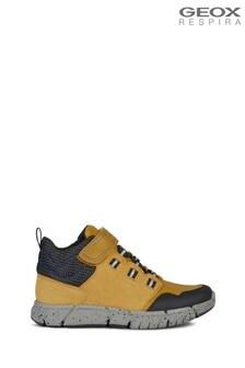 Geox Junior Boy/Unisex Flexyper Dark Yellow/Royal Boots