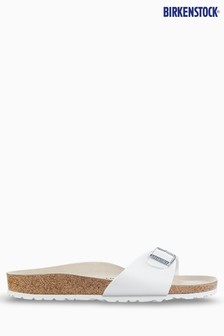 Birkenstock® White Madrid Sandals