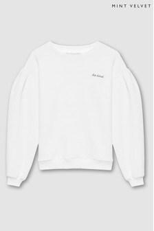 Mintie by Mint Velvet Ivory Be Kind Sweatshirt