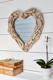 Driftwood Effect Mirror