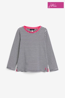 Joules Blue Pascal Long Sleeve Top