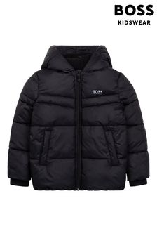 BOSS Black Logo Puffer Jacket