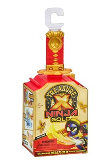 Treasure X Ninja Gold Hunters Single Pack